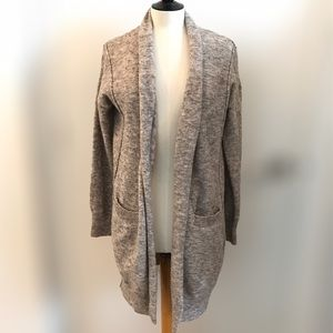 Seven Sisters Open Front Cardi Long Sleeve